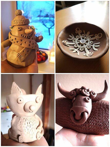 Ikmēneša keramikas nodarbību abonements 4-10 gadus veciem bērniem